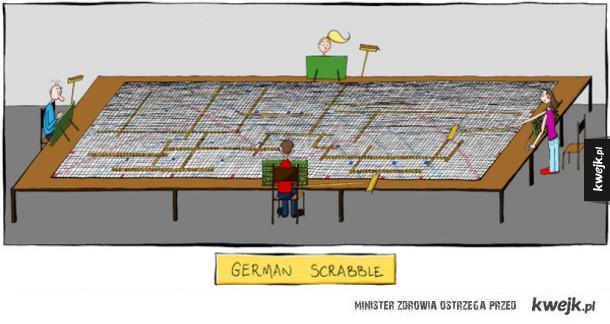 niemieckie scrabble
