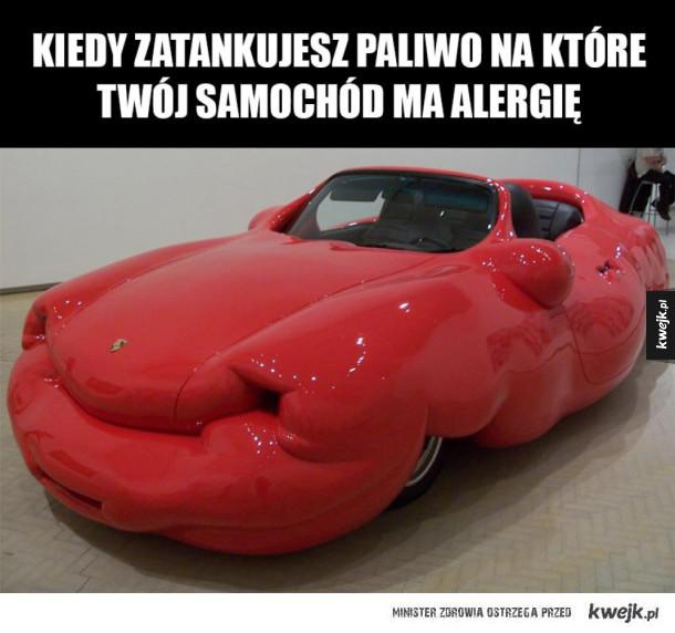 Biedny samochód