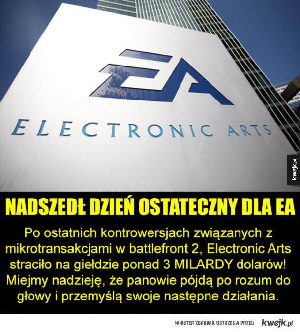 Czarne chmury nad Electronic Arts