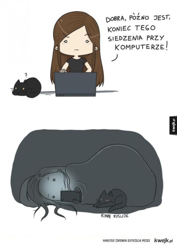Dosyć siedzenia przy komputerze