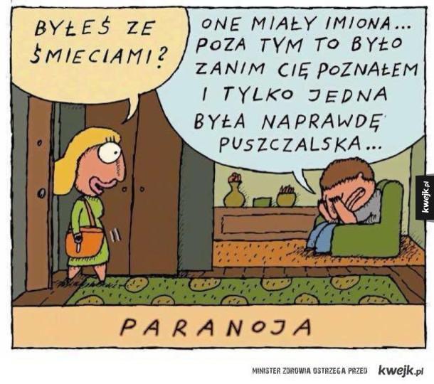 Paranoja w związku