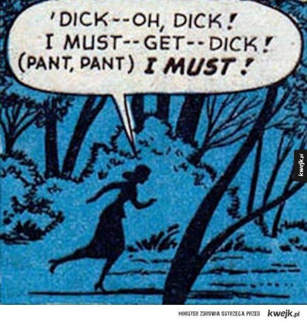 Wyrwane z kontekstu sceny z komiksów, których tłumaczenie byłoby zbrodnią