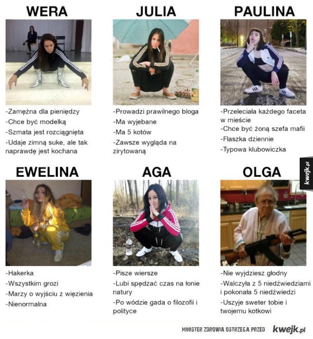 Typowe Rosjanki