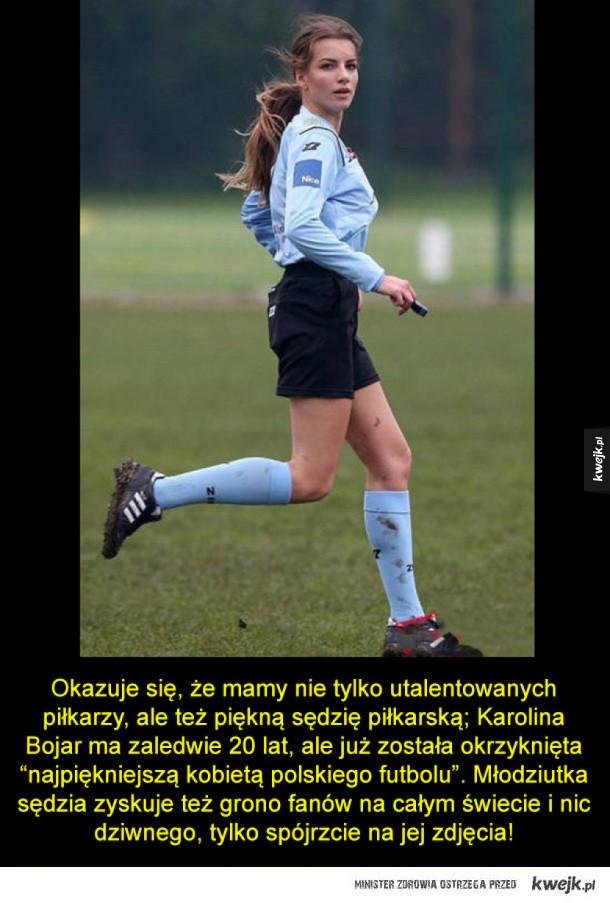 Piękna polska sędzia sportowa