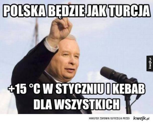 Chcemy zrobić Turcję w Polsce