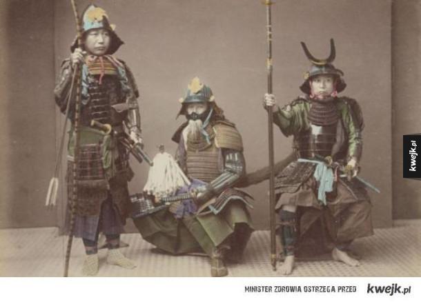 XIX-wieczni Japończycy na koloryzowanych zdjęciach