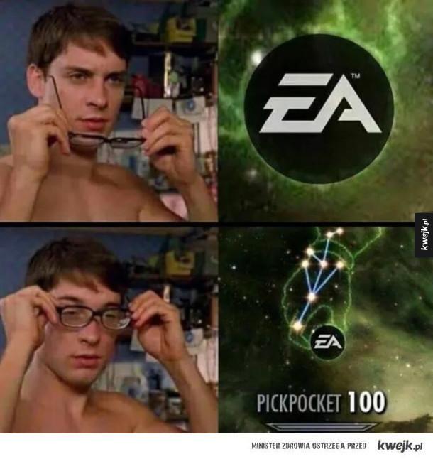 EA kradzieje
