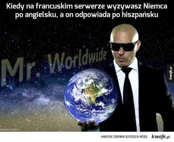 Uuu zrobiło się światowo