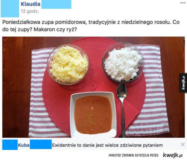 Poniedziałkowa zupa pomidorowa