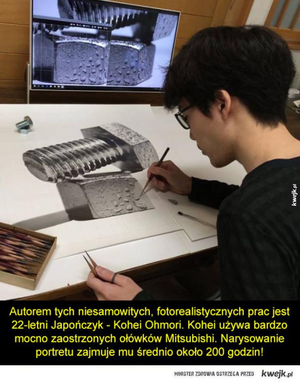 Te Zdjęcia To Tak Naprawdę Rysunki Ołówkiem Galeria Kwejkpl
