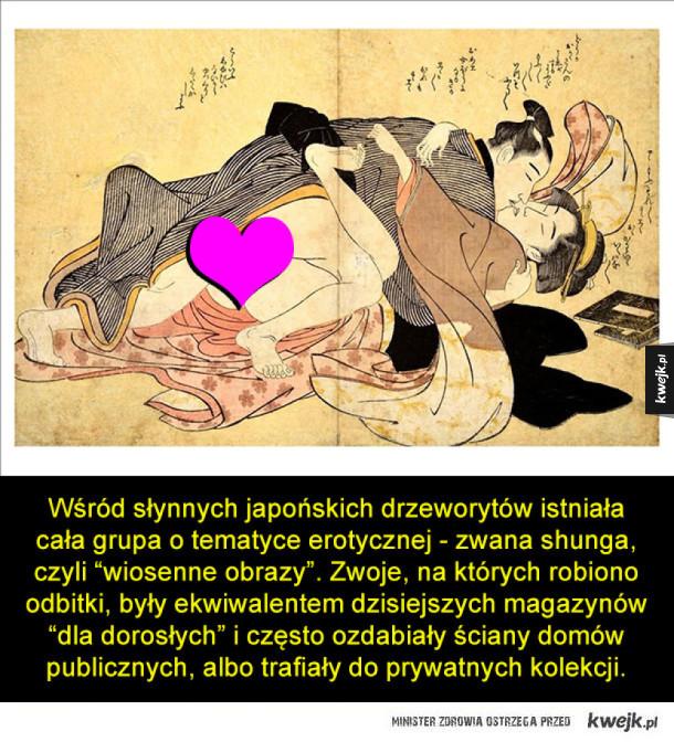 Króciutka historia japońskiej branży erotycznej