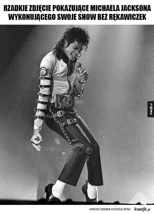 Michael bez rękawiczek