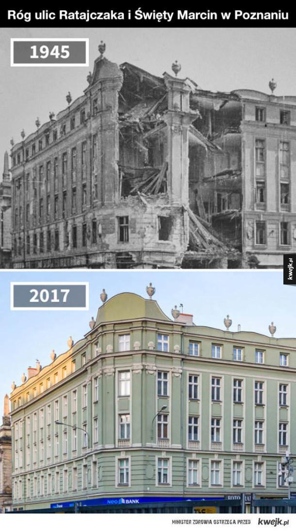 Jak zmieniały się różne miejsca w Europie
