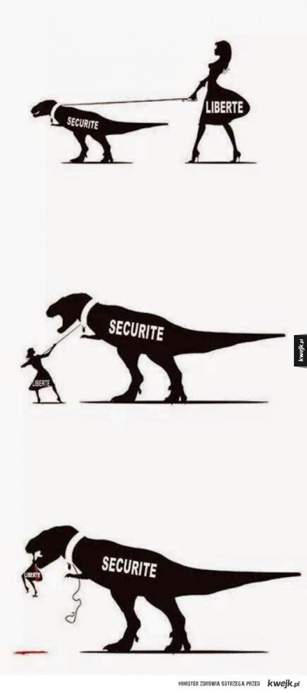 Wolność vs bezpieczeństwo