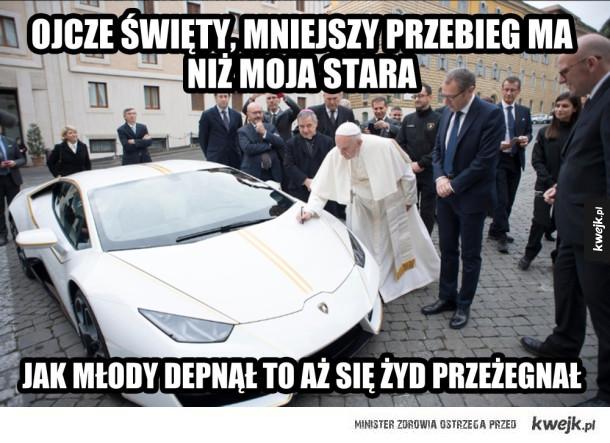 Idealny samochód dla Papieża