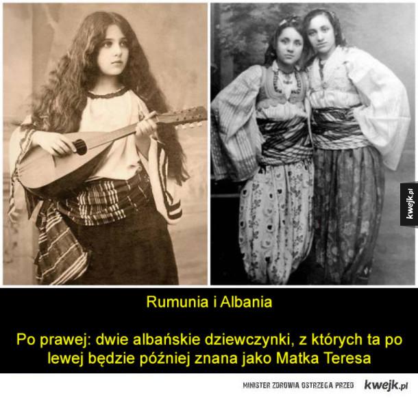 Jak wyglądali młodzi ludzie z różnych krajów około 100 lat temu