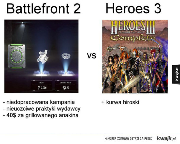 Battlefront 2 vs HOMM3