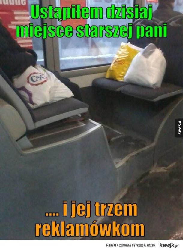 Miejsce w autobusie