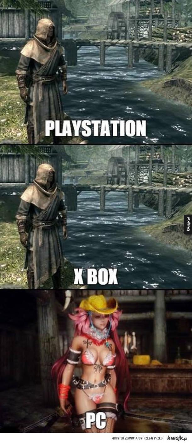 Jak wygląda Skyrim na różnych platformach