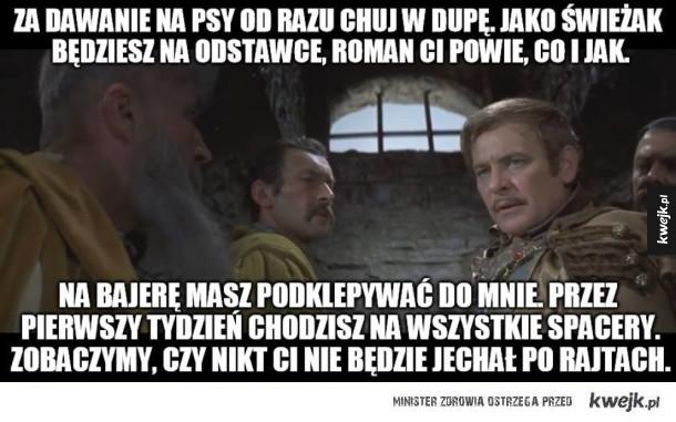 Słuchaj się Wołodyjowskiego