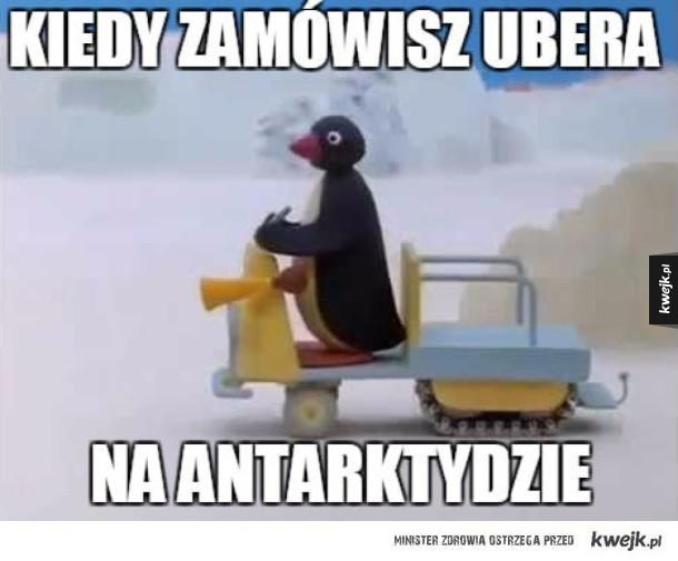 Uber podjechał