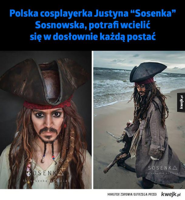 """Polska cosplayerka Justyna """"Sosenka"""" Sosnowska - Polska cosplayerka Justyna Sosenka Sosnowska, potrafi wcielić się w dosłownie każdą postać"""