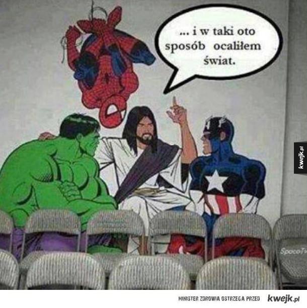 JEzus superbohater
