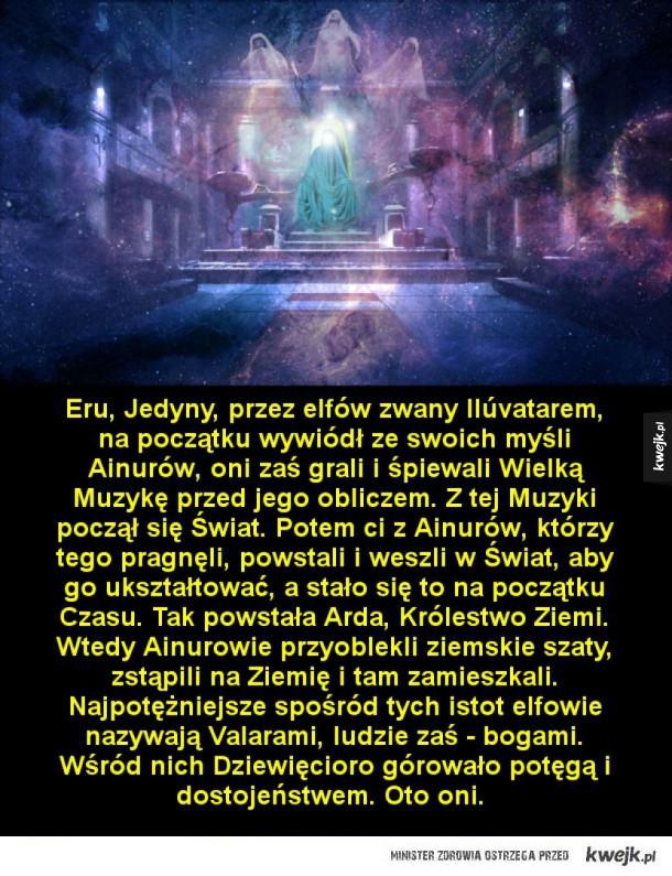 Valarowie, najpotężniejsze istoty tolkienowskiego świata