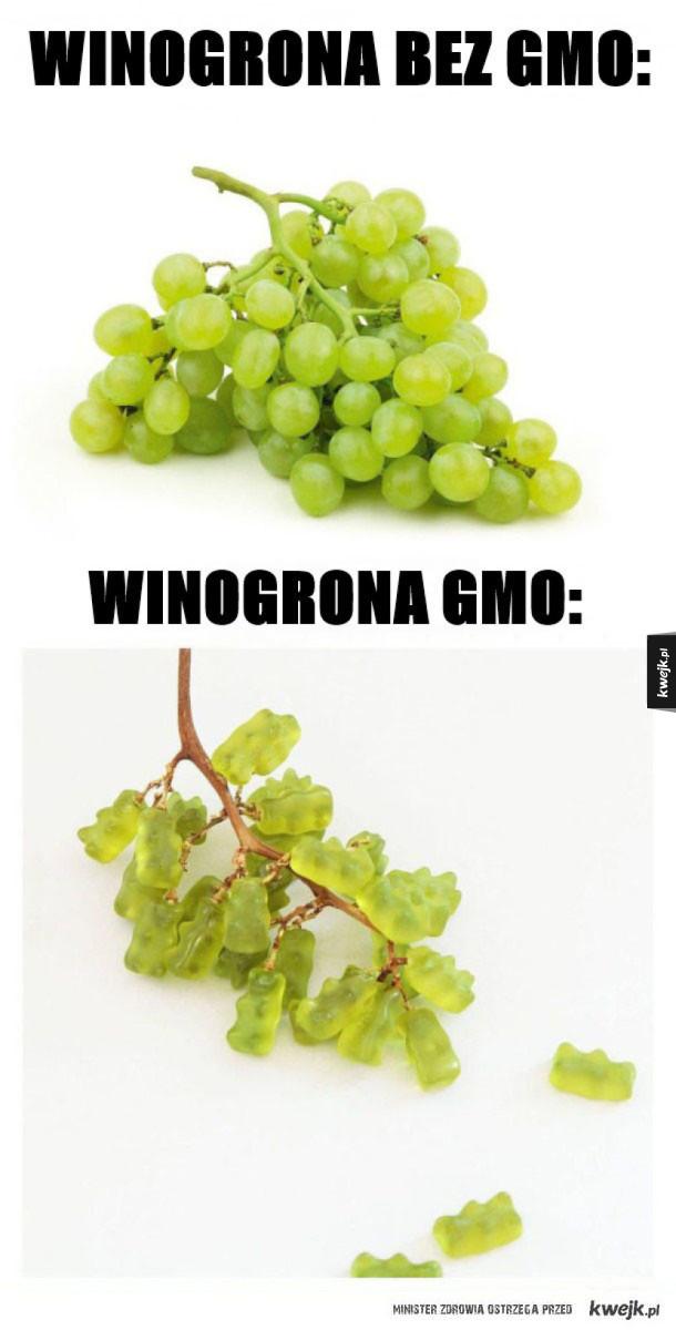 Niezdrowe winogrona