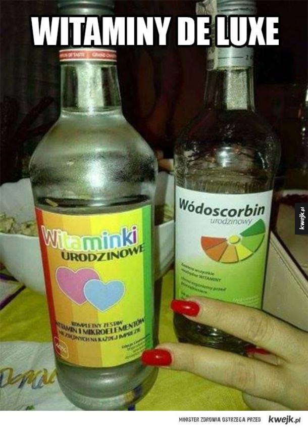 Najlepsze witaminy