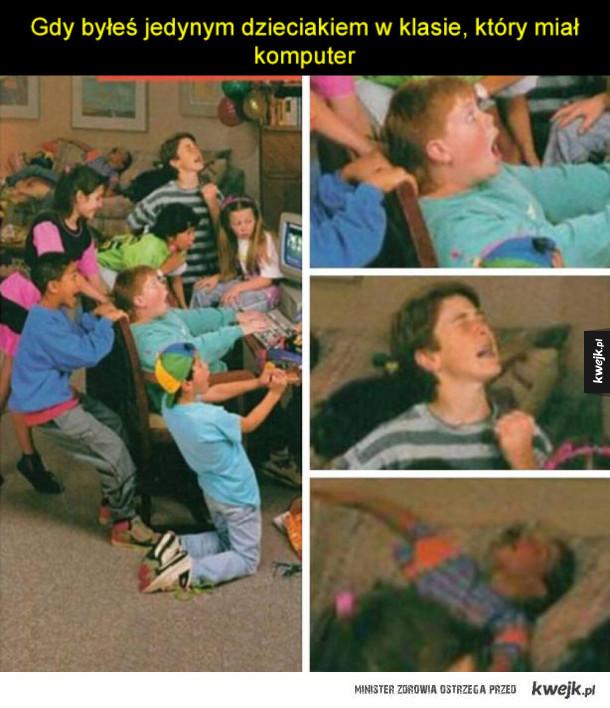 Gimby nie znajo, a dzieciaki z lat 90-tych pamiętajo