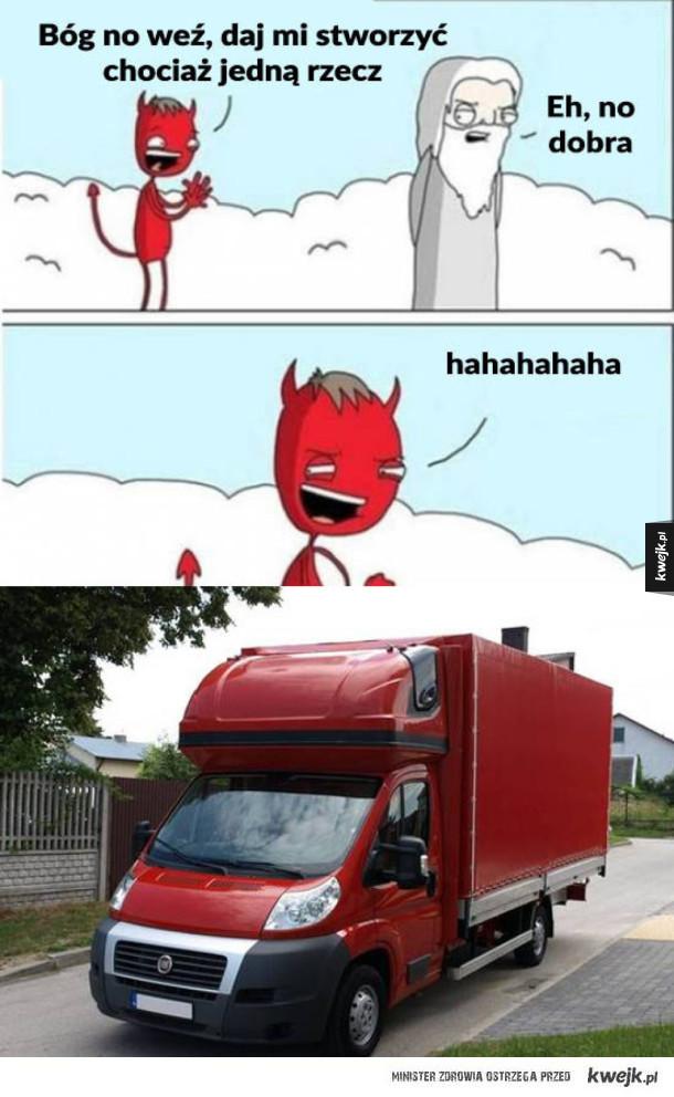 Szatan stworzył busiarza