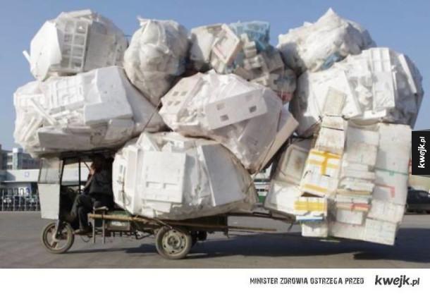 Azjaci są mistrzami pakowania