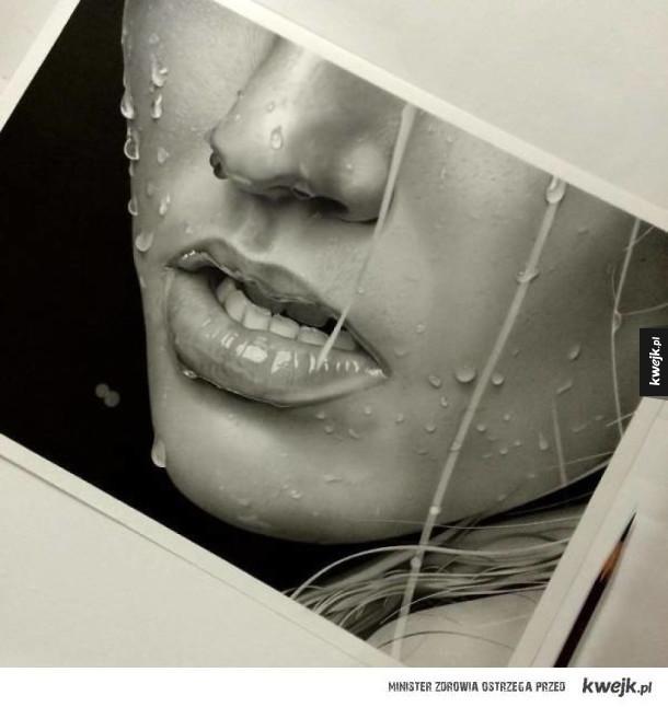 """Te """"zdjęcia"""" to tak naprawdę rysunki ołówkiem"""