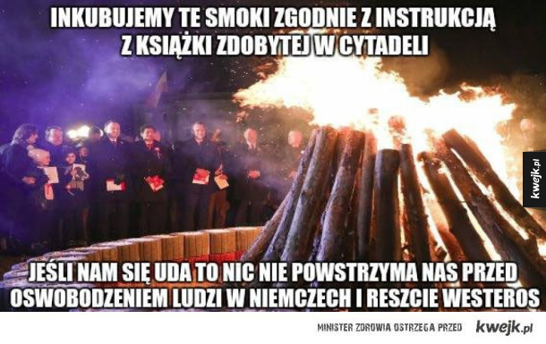 Inkubacja Polskich smoków