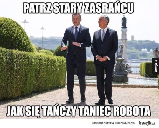Najlepsze memy z Andrzejem Dudą z okazji jego imienin