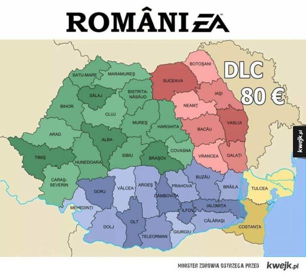 Rumunia według EA
