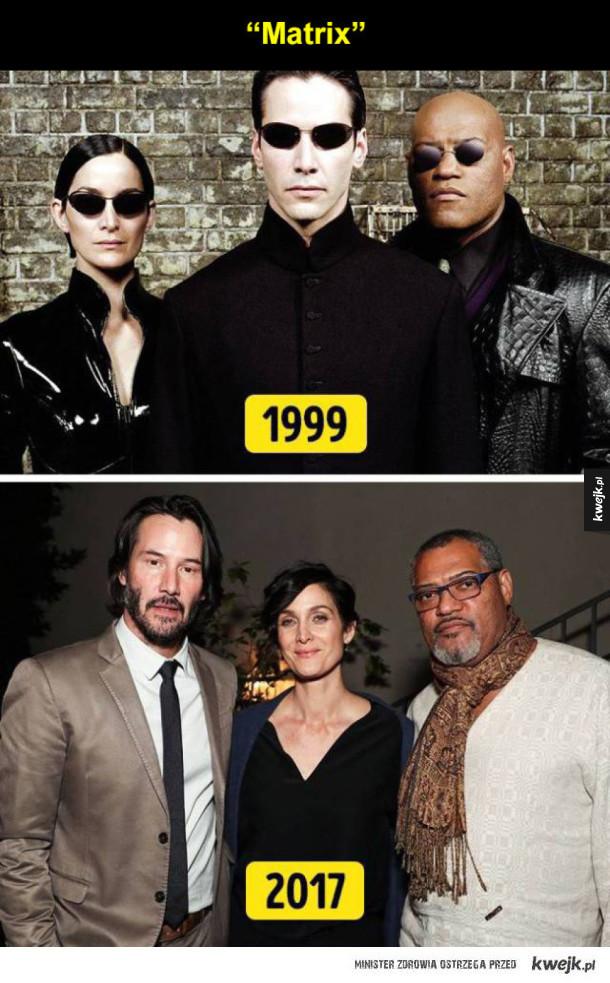 Obsady znanych filmów i seriali po latach
