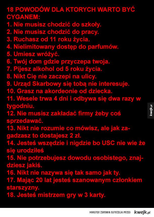 18 powodów