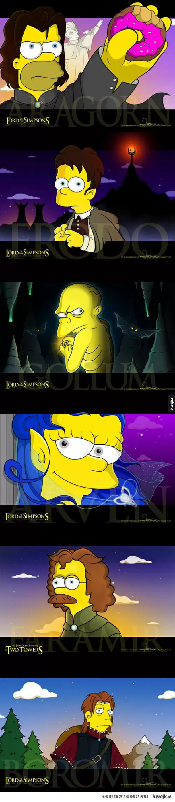 Lord of the Simpsons