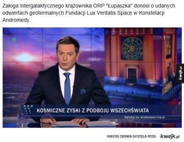 Polska kosmiczną potęgą
