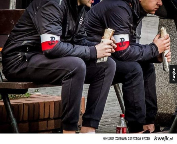 Polski kebab patriotyczny