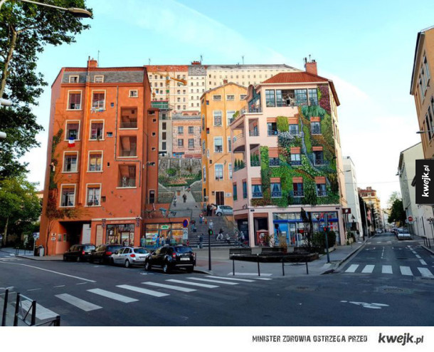 Mural czy rzeczywistość?