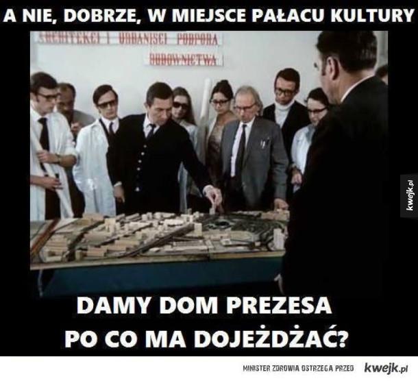 Zmiany w Warszawie