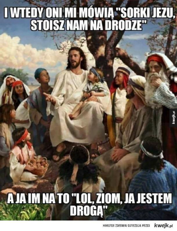 Jezus zaorał