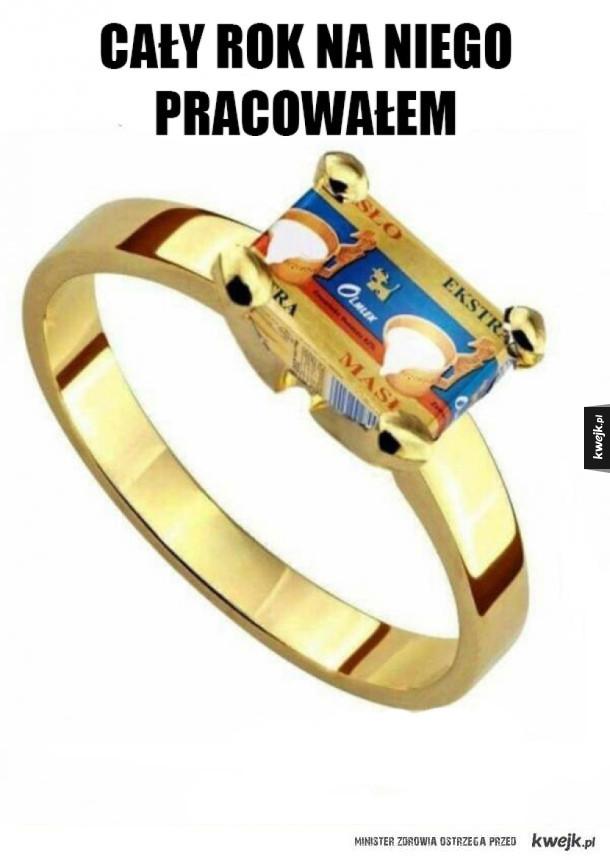 Najdroższy pierścionek