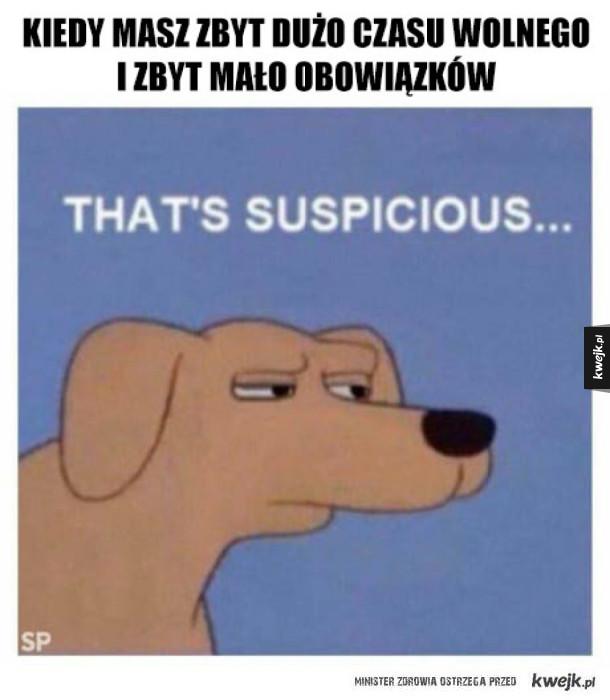podejrzane...