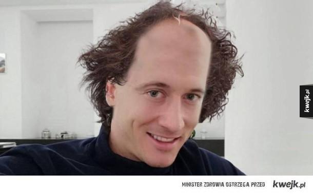 Nowa fryzura Lewego