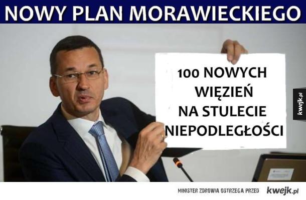 Nowy plan Pana Premiera