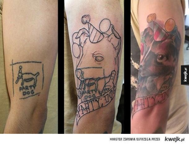 Poprawione tatuaże